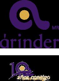 Árinder Logo